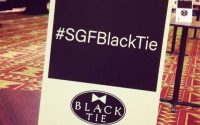 #SGFBlackTie POST • SHARE • TAG