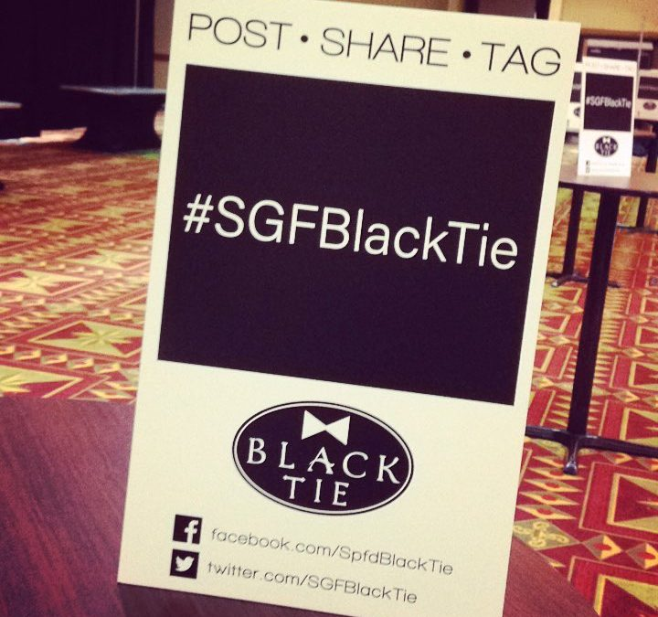 #SGFBlackTie POST •SHARE • TAG