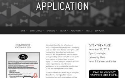 2018 Grant Application Window Open!