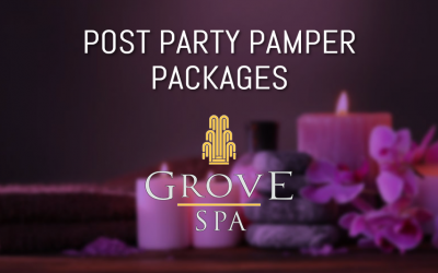 POST PARTY PAMPER PACKAGES