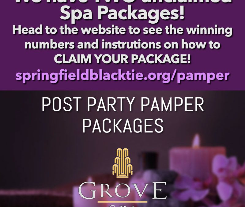 2 Unclaimed Spa Packages!